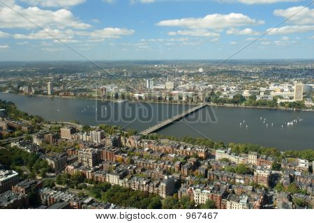 View Of Charles River In Boston