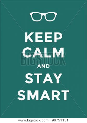 Keep Calm. Some poster, text and creative idea. Vector stock element for design