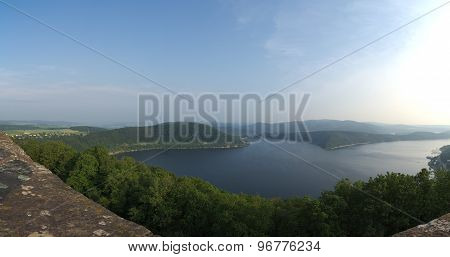 Panoramic View Over Edersee