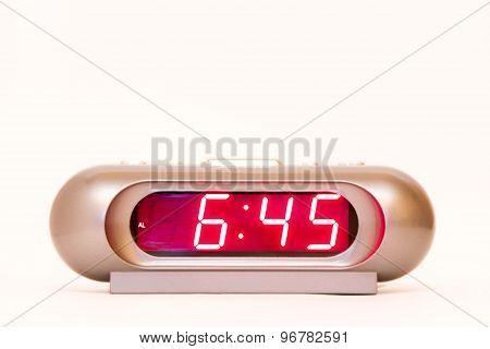 Digital Watch 6:45