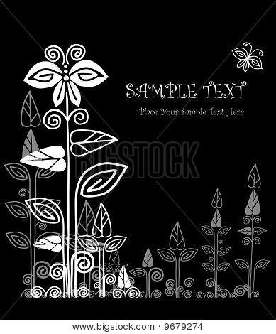 Floral Card design