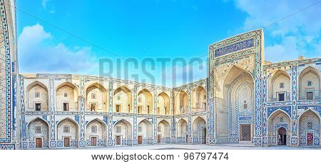 The Courtyard With Tiled Decoration