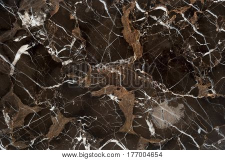 Beautiful brown Vein Marble Stone tile. texture background for design