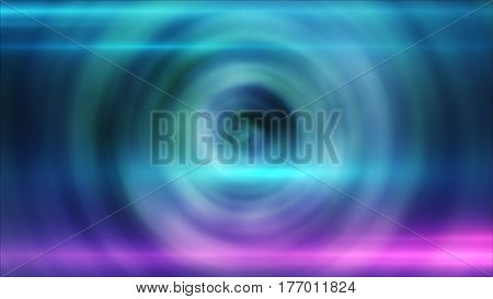 Abstract Ring Background With Luminous Swirling Backdrop. Glowing Spiral.