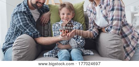 Family Dreaming A New House