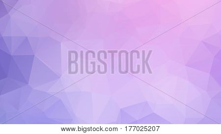 Polygon Abstract Geometric Background. Modern Overlapping Triangles .