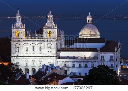 Sao Vicente de Fora Monastery in Lisbon Lisbon Portugal.