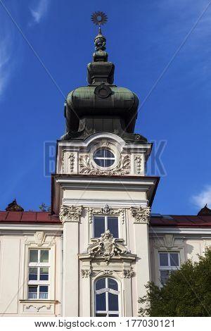 St. Elisabeth Hospital in Cieszyn . Cieszyn Slaskie Poland.