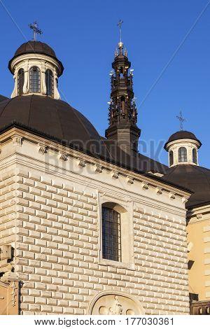 Jasna Gora Monastery in Czestochowa. Czestochowa Silesia Poland.