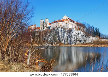 Benedictine Monastery In Tyniec Near Cracow, Poland