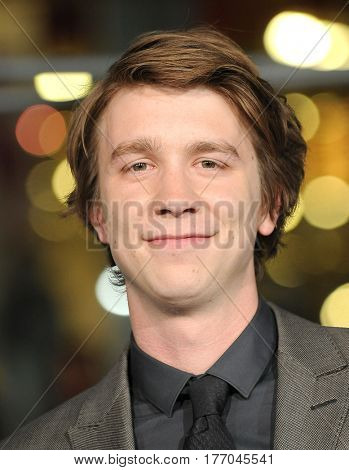 LOS ANGELES - MAR 08:  Thomas Mann arrives for the