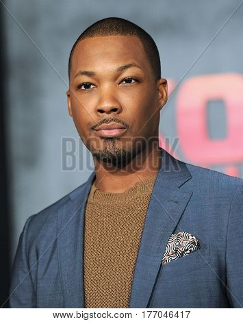 LOS ANGELES - MAR 08:  Corey Hawkins arrives for the