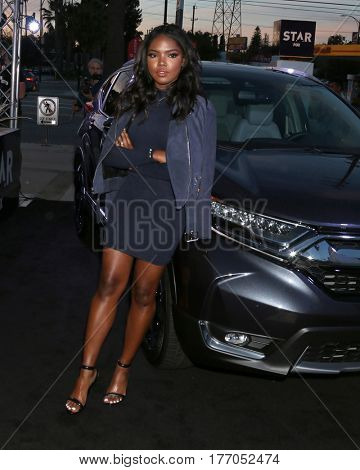LOS ANGELES - MAR 14:  Ryan Destiny at the Honda Stages An Exclusive Evening with STAR at iHeart Theater on March 14, 2017 in Burbank, CA