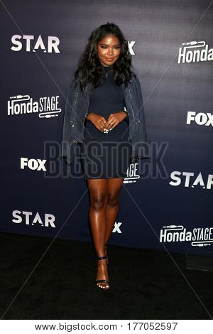 LOS ANGELES - MAR 14:  Ryan Destiny at the Honda Stage An Exclusive Evening with STAR at iHeart Theater on March 14, 2017 in Burbank, CA