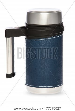 Thermos Bottle Isolated On White Background