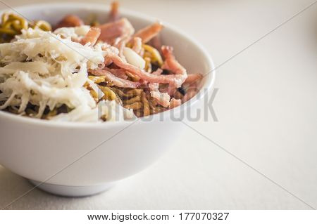 Snow Fish With Noodles