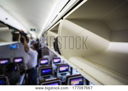 Overhead Luggage Compartment