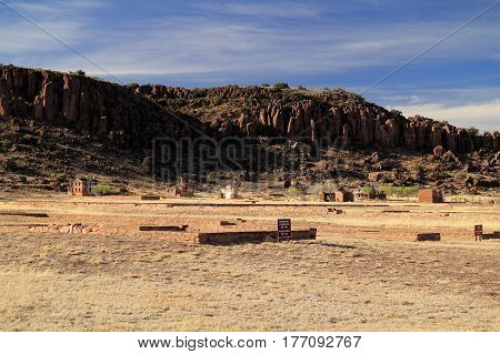 Fort Davis National Historic Site, Home of the Legendary Buffalo Soldiers, Alpine, Texas