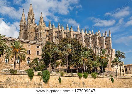 Cathedral de Santa Maria de Palma de Mallorca.