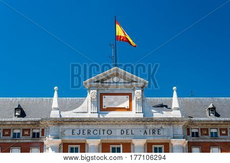 Spanish Air Force Headquarters in Moncloa-Aravaca Madrid