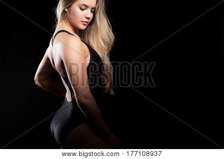 Seductive Woman In Corset