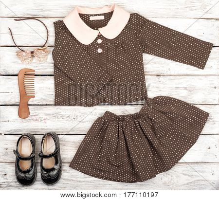 Beauty Set Of Girl's Fashion And Accessories