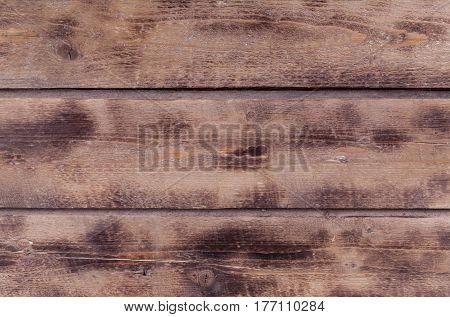 Old Natural Wooden Background
