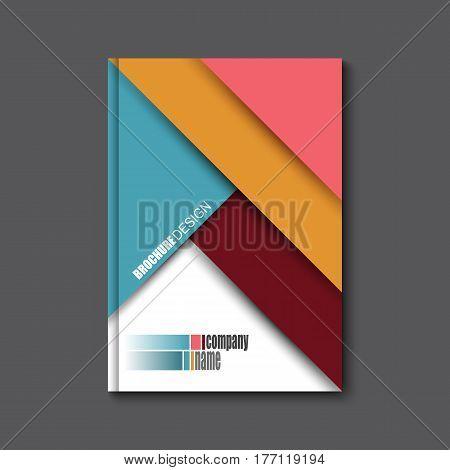 Brochure Flyer design vector template. Eps 10