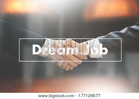 Hipster Working  Dream Job Occupation Career Aspiration Concept