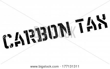 Carbon Tax rubber stamp. Grunge design with dust scratches. Effects can be easily removed for a clean, crisp look. Color is easily changed.