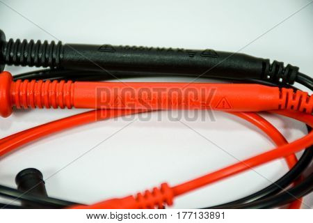 Wires For Digital Multimeter (red And Black)