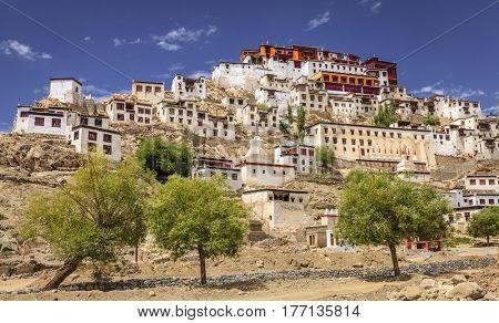 Thiksay Buddhist Monastery near Leh, Kashmir, India