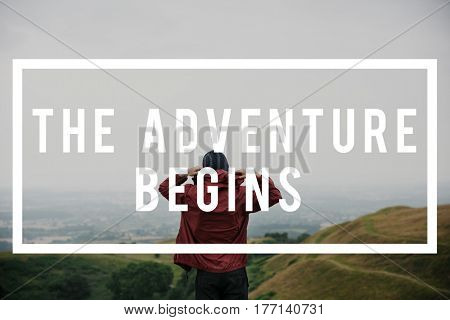 Adventure Begins Where's Next Concept
