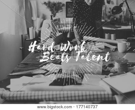 Hard Work Beats Talent Challenge Development