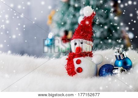 Merry Christmas and Happy New Year, Winter decoration