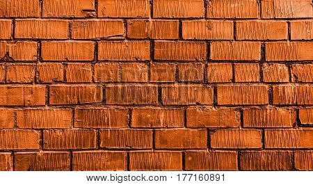 Brick wall, brick, orange brick wall, rough brick wall, orange brick, brick wall