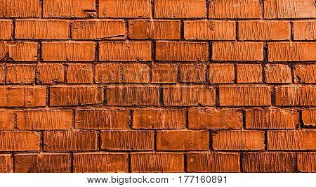 Brick wall, brick, orange brick wall, rough brick wall, orange brick, brick wall