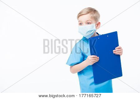 Boy Playing Doctor