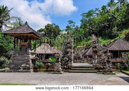 Temples In Gunung Kawi, Bali, Indonesia