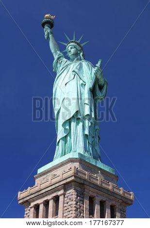 Liberty Statue New York American Symbol USA US
