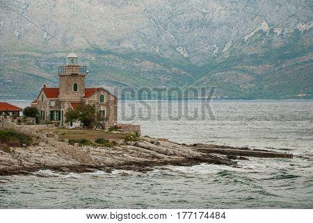 Lighthouse In Sucuraj, Hvar Island, Croatia