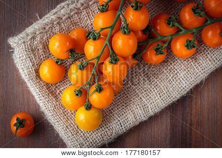 Fresh Orange Cherry Tomatoes