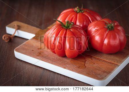 Fresh Raw Tomatoes