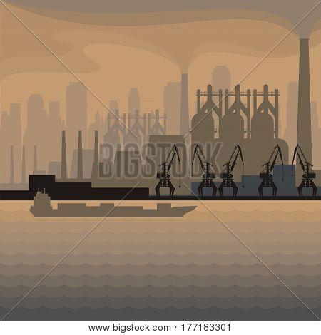 Industrial Seaside Town.eps