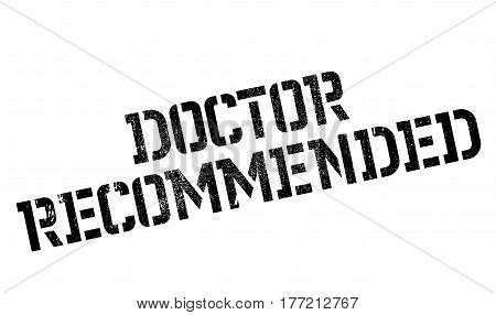 Doctor Recommended rubber stamp. Grunge design with dust scratches. Effects can be easily removed for a clean, crisp look. Color is easily changed.
