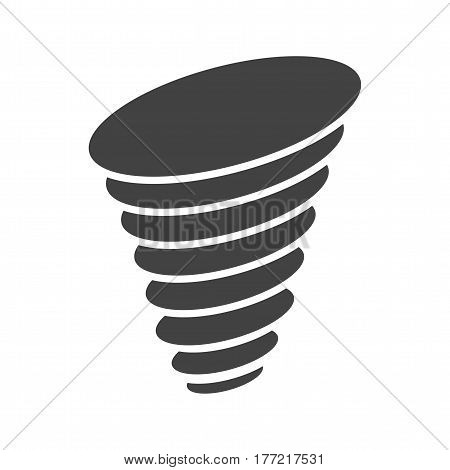 Tornado, storm, twister icon vector image. Can also be used for disasters. Suitable for mobile apps, web apps and print media.