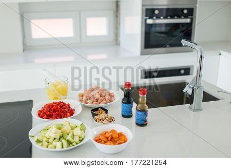 Beautiful tidy kitchen