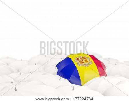 Umbrella With Flag Of Andorra