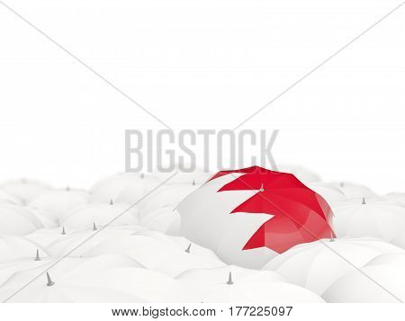 Umbrella With Flag Of Bahrain