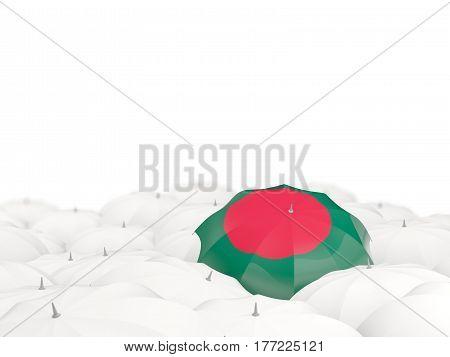 Umbrella With Flag Of Bangladesh